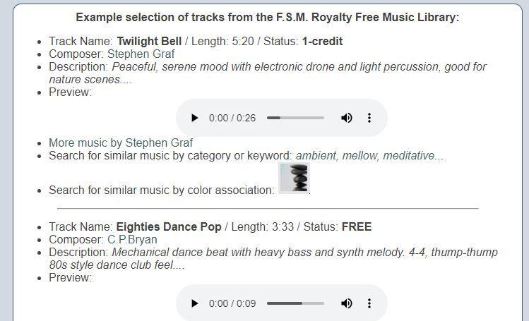 musica free soundtrack music