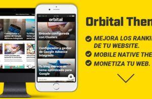 plantilla orbital theme