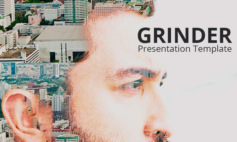 Grinder - Plantilla PowerPoint