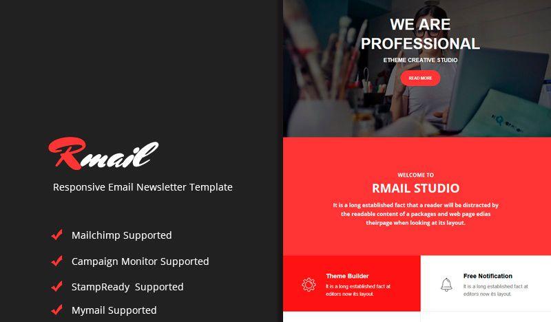 Rmail - Plantilla Responsive para Boletín de Noticias