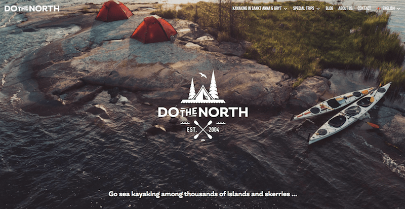 Página web de Do The North