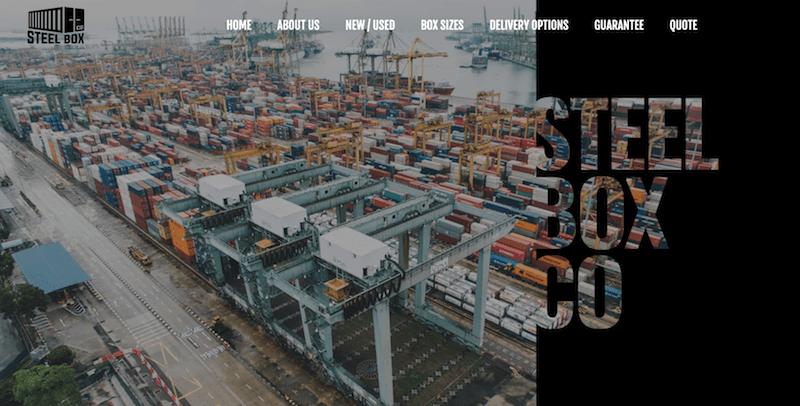 Página web de Steel Box Co